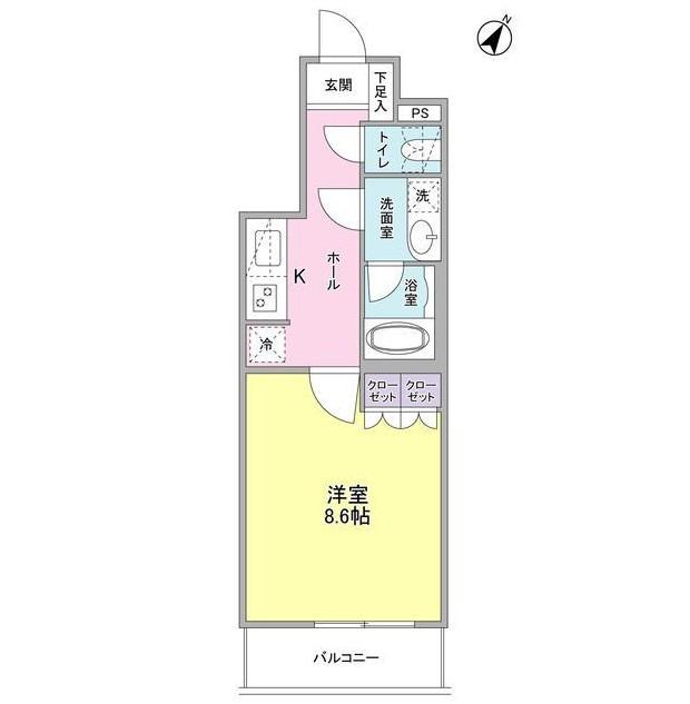 ヴィセオ幡ヶ谷205号室