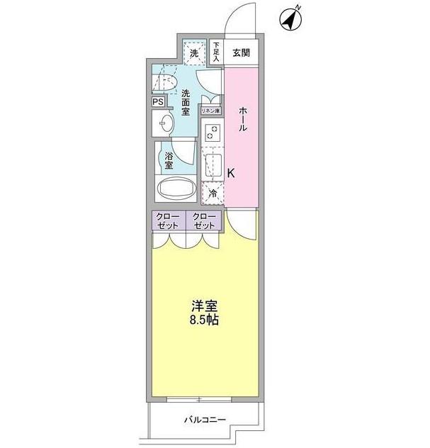 ヴィセオ幡ヶ谷206号室