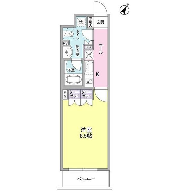 ヴィセオ幡ヶ谷302号室