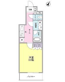 ヴィセオ幡ヶ谷305号室