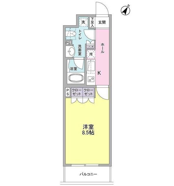 ヴィセオ幡ヶ谷402号室