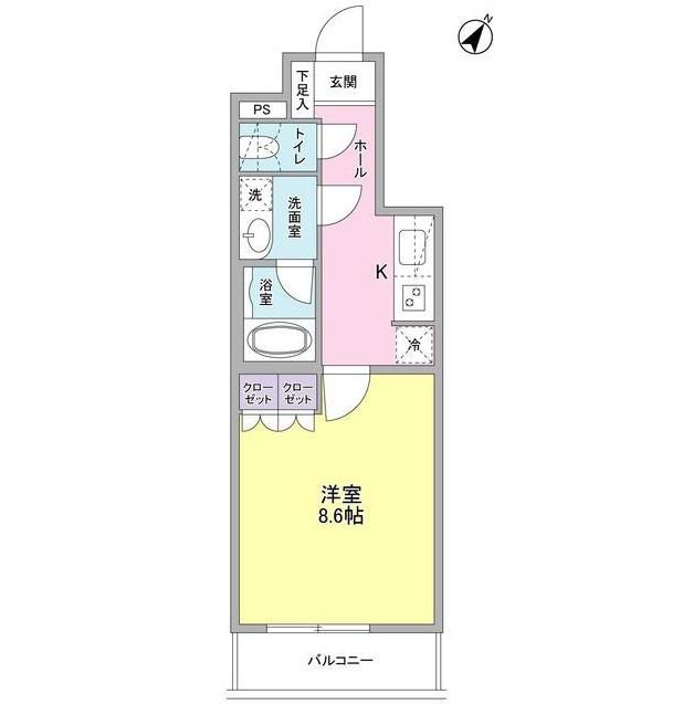 ヴィセオ幡ヶ谷404号室
