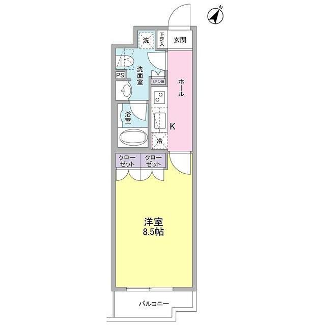 ヴィセオ幡ヶ谷405号室