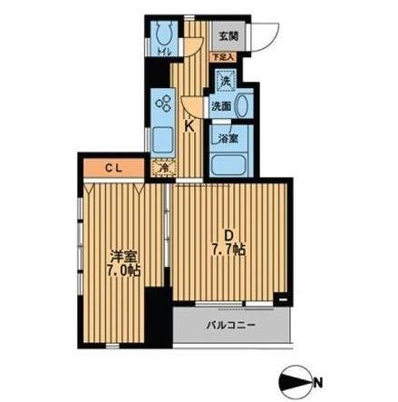プライムアーバン西新宿Ⅱ1401号室