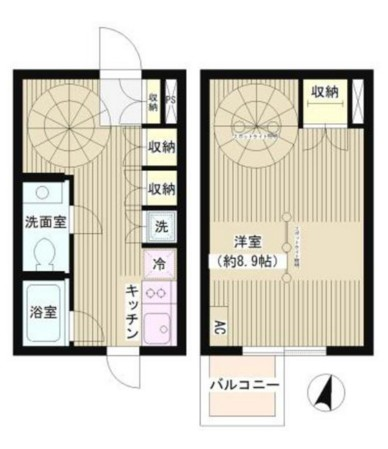 JOYCE広尾101号室