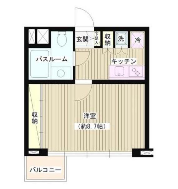 JOYCE広尾202号室