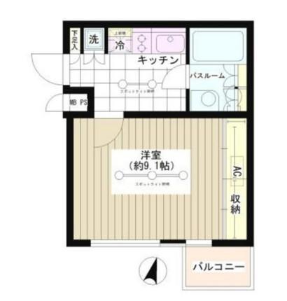 JOYCE広尾204号室