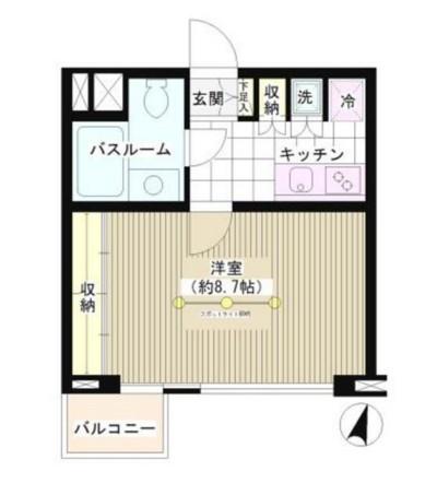 JOYCE広尾301号室
