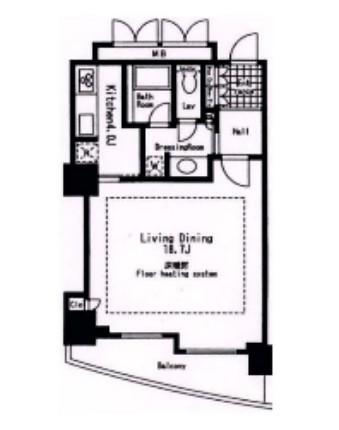 東急V.R.市ヶ谷河田町3306号室