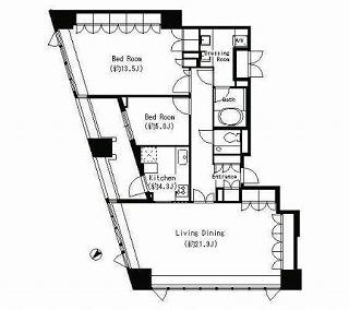 パークキューブ目黒タワー1301号室