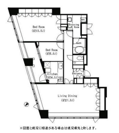 パークキューブ目黒タワー1701号室