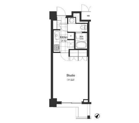 パークキューブ目黒タワー205号室
