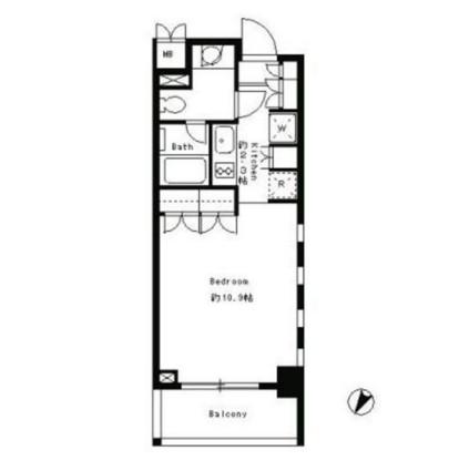パークキューブ目黒タワー208号室