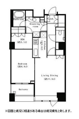 パークキューブ目黒タワー306号室