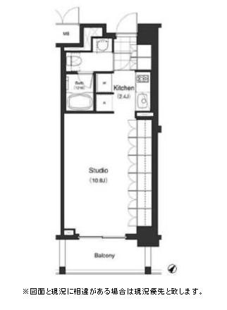パークキューブ目黒タワー312号室