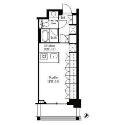 パークキューブ目黒タワー320号室
