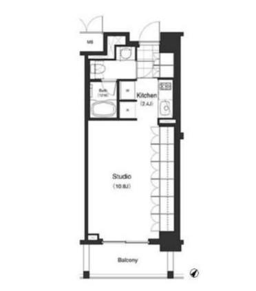 パークキューブ目黒タワー413号室
