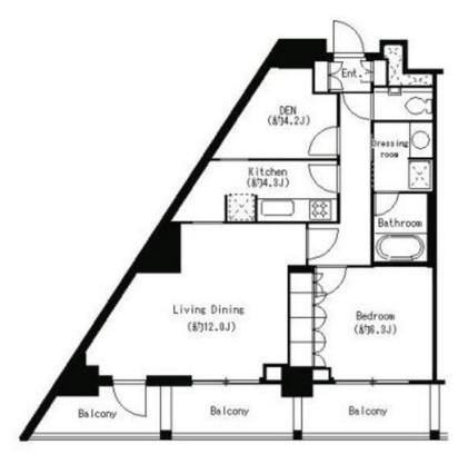パークキューブ目黒タワー414号室