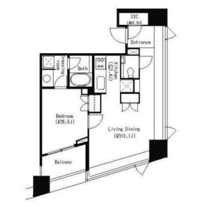 パークキューブ目黒タワー701号室