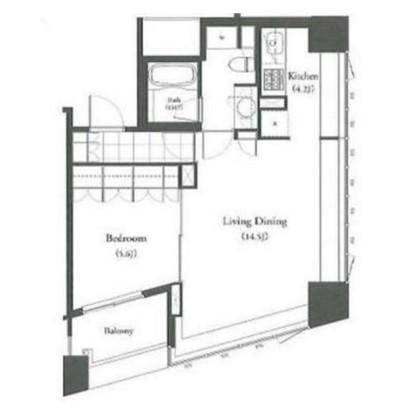 パークキューブ目黒タワー801号室