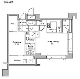 レジディア代官山203号室