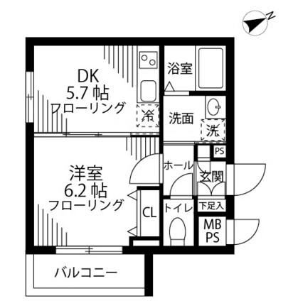 グリーニエ西新宿弐番館301号室