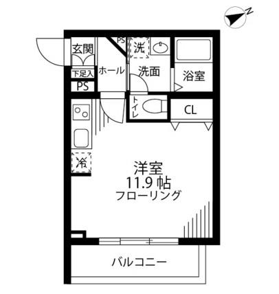グリーニエ西新宿弐番館404号室