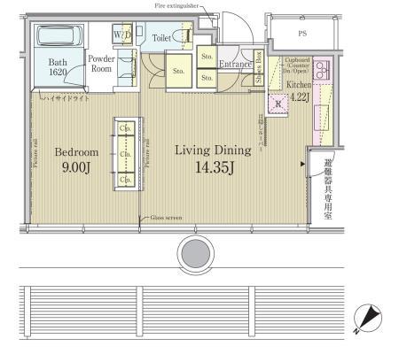 エル・セレーノ元赤坂レジデンス1809号室