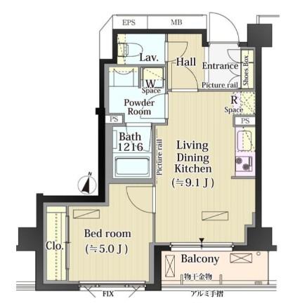 パークアクシス自由が丘テラス304号室