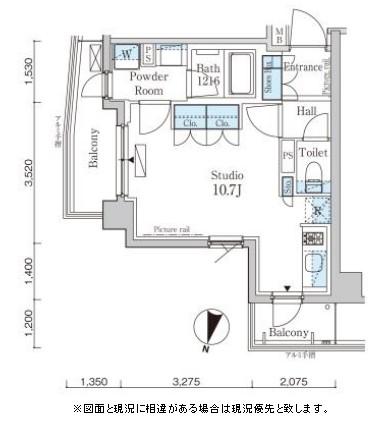パークアクシス自由が丘テラス314号室