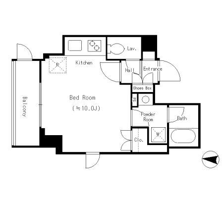 パーク フィル ヴェール1406号室