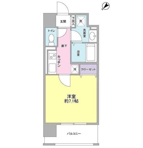 オーククレストビル601号室