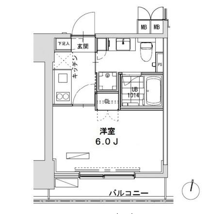 グランディオール広尾テラス1004号室