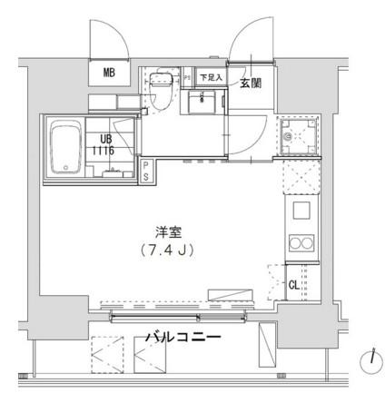グランディオール広尾テラス1103号室
