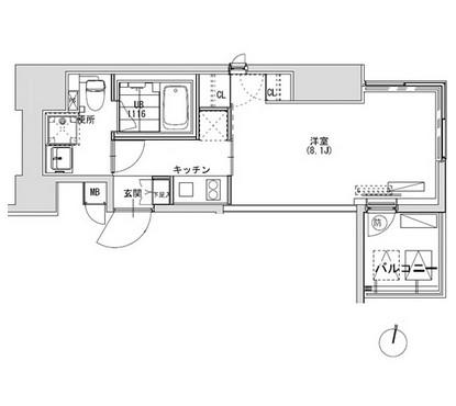 グランディオール広尾テラス1205号室