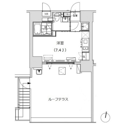 グランディオール広尾テラス204号室