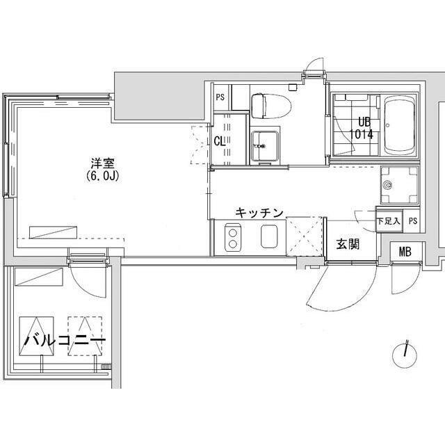 グランディオール広尾テラス601号室