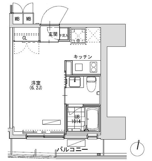 グランディオール広尾テラス703号室