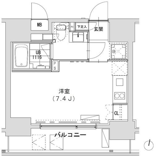 グランディオール広尾テラス704号室