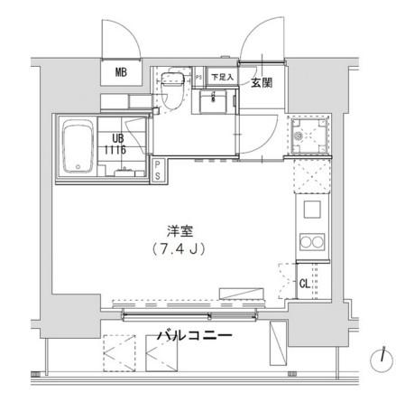 グランディオール広尾テラス904号室