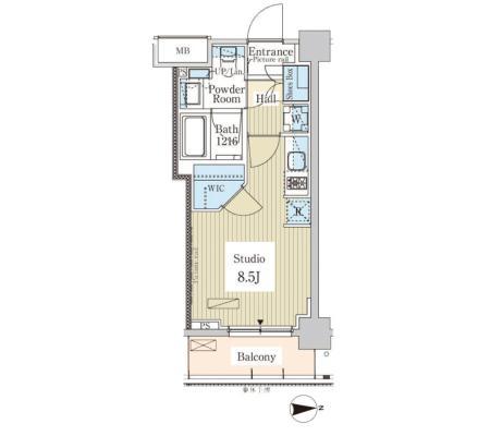 パークアクシス高田馬場テラス503号室