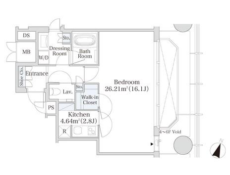 プラティーヌ御茶ノ水305号室