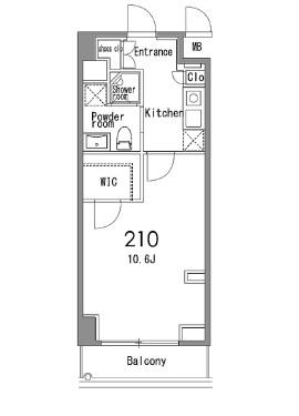カスタリア中目黒210号室