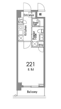 カスタリア中目黒221号室