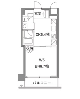 カスタリア中目黒305号室