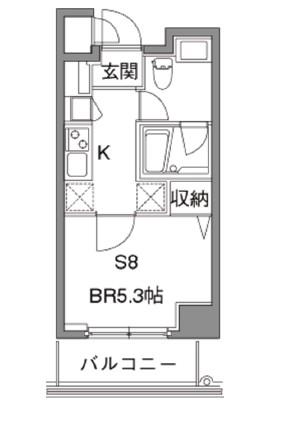 カスタリア中目黒313号室