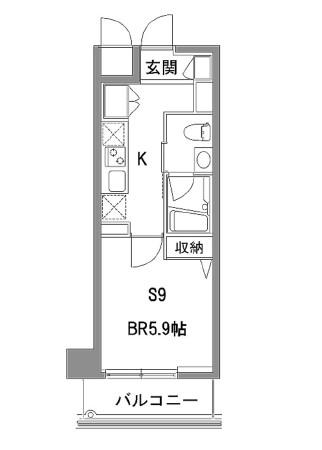 カスタリア中目黒314号室