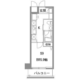 カスタリア中目黒509号室