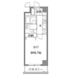 カスタリア中目黒602号室