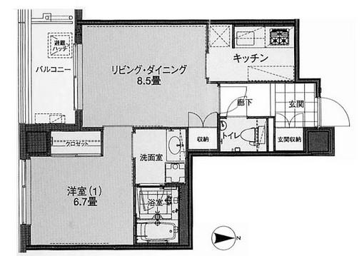 代官山プラザ1203号室
